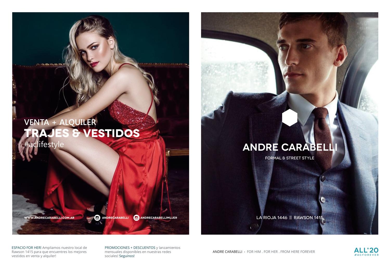 Diseño gráfico y producción material gráfico publicitario para Andre Carabelli by UMM ideas SA