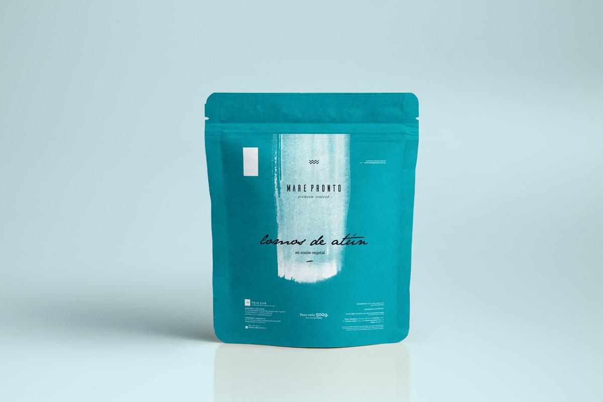 Diseño de packaging Mare Pronto by UMM ideas SA