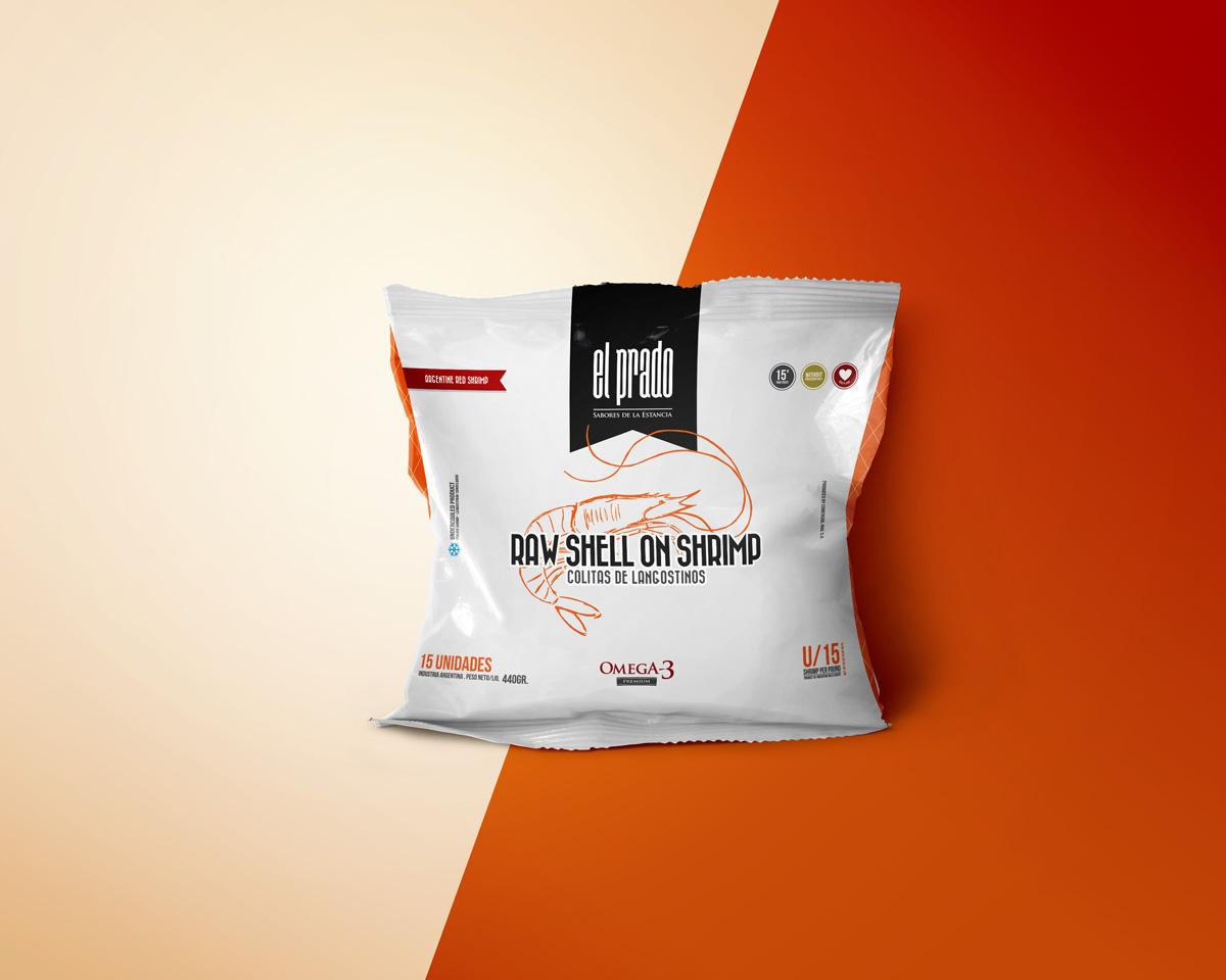 Diseño de packaging El Prado by UMM ideas SA